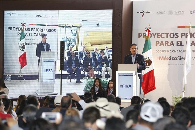 Presentan proyectos prioritarios para Michoacán, por lo que las y los productores podrán acceder a apoyos a través de seis acciones