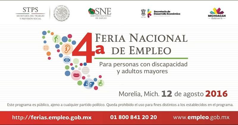 El evento se llevará a cabo en Plaza Cantera de Ceconexpo, de las 09:00 a las 13:00 horas del 12 de agosto