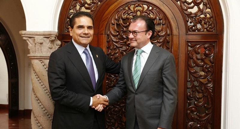Aureoles Conejo planteó al titular de la SHCP algunas propuestas para que en Michoacán las participaciones federales no se sacrifiquen en los rubros sociales, de salud y educación