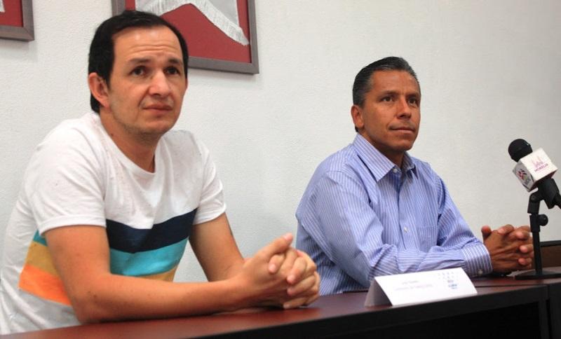 En la presentación se dieron cita: Gustavo Juárez Bedolla, Director General del IMDE, así como José Navarro, Subdirector de Feeling Dance