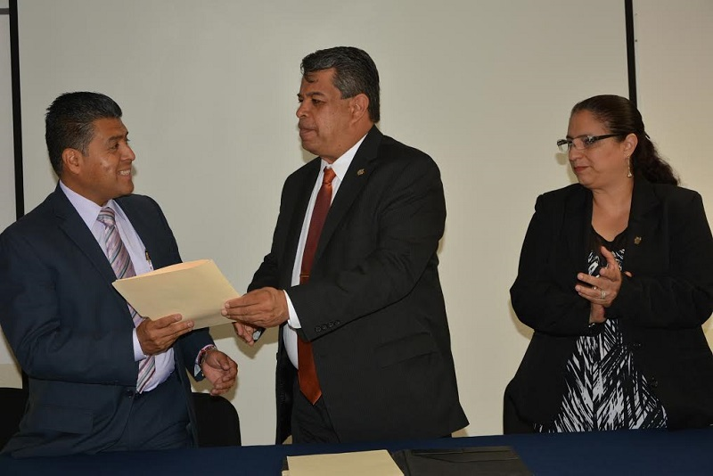 Anzurez Marín fue presentado como el perfil idóneo para continuar con el encargo al frente de esta dependencia