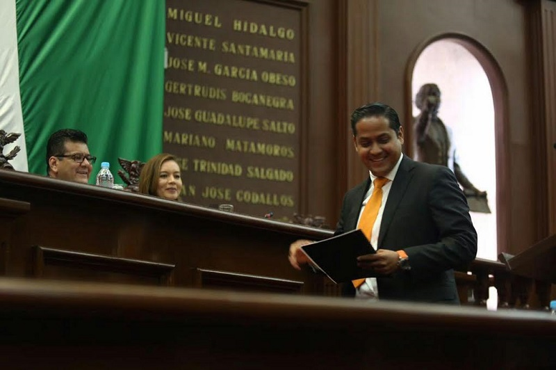 Con la lucha contra la corrupción y la impunidad, de manera contundente y sistemática, se logrará que Michoacán recupere su grandeza, aseveró Moncada Sánchez