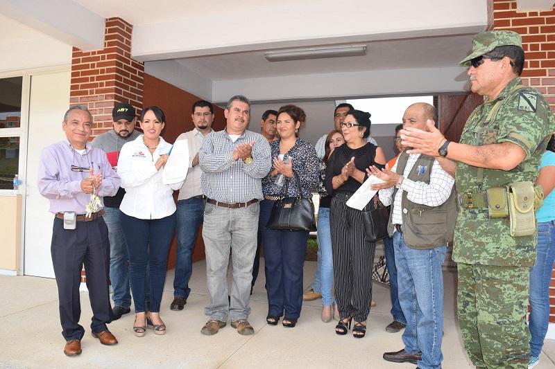 Díaz Chagolla comentó que originalmente el plantel había sido considerado como escuela primaria; sin embargo, se detectó la necesidad de una secundaria