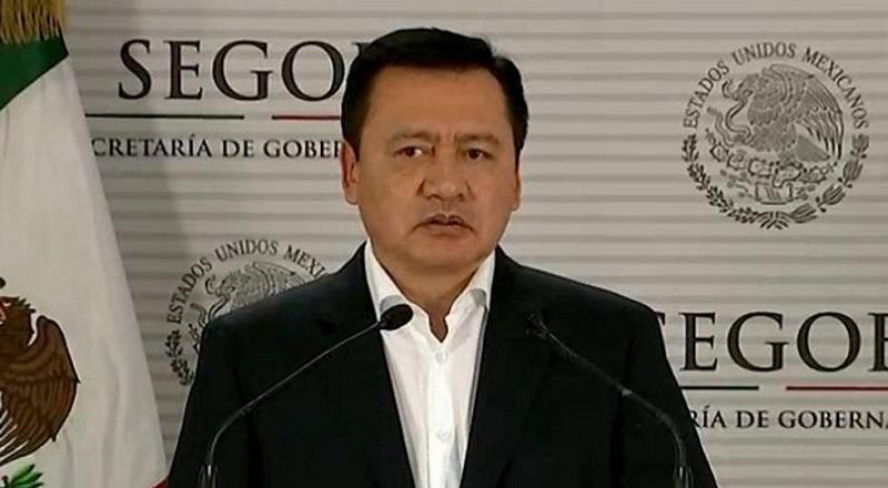 En un mensaje a medios, Osorio Chong dijo que es el diálogo y el encuentro lo que ha permitido salir adelante y serán las mesas de negociación las que darán un proceso adecuado para resolver cualquier tipo de problemática