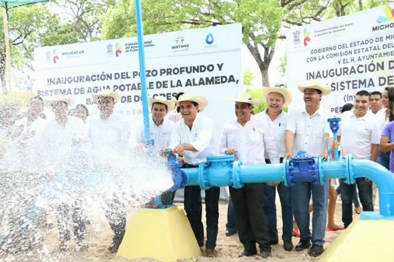 Se garantizará el suministro del agua potable de todo el municipio: Ibarra Torres