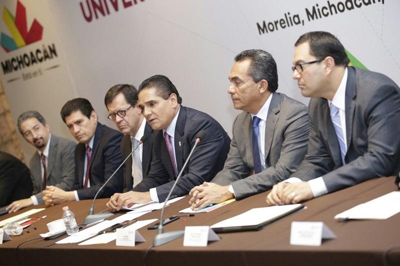 En las instalaciones de Casa de Gobierno, Aureoles Conejo comentó que el respeto de los derechos humanos es el reflejo de una sociedad democrática y avanzada