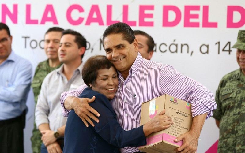 La autoridad hará la parte que le corresponda para garantizar estabilidad, paz y seguridad del municipio: Aureoles Conejo