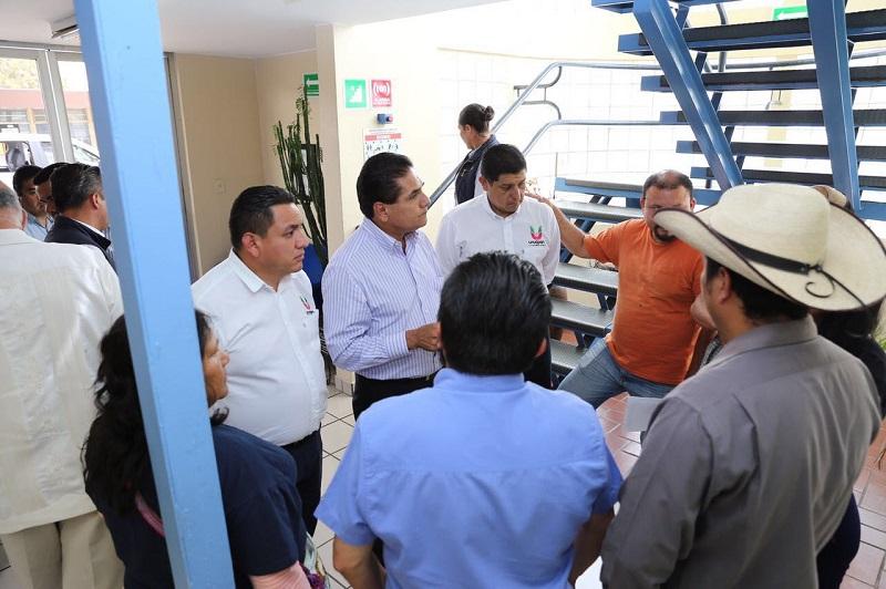 Aureoles Conejo refrenda su voluntad y disposición a la solución de las demandas, por la vía pacífica y mediante un diálogo respetuoso que derive en la estabilidad y bienestar social en el estado