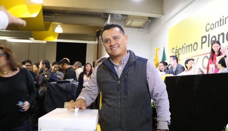 Torres Piña destacó la capacidad de las mujeres para estar al frente del Sol Azteca, ya que Barrales Magdaleno, hará mancuerna con Beatriz Mojica Morga como secretaria general