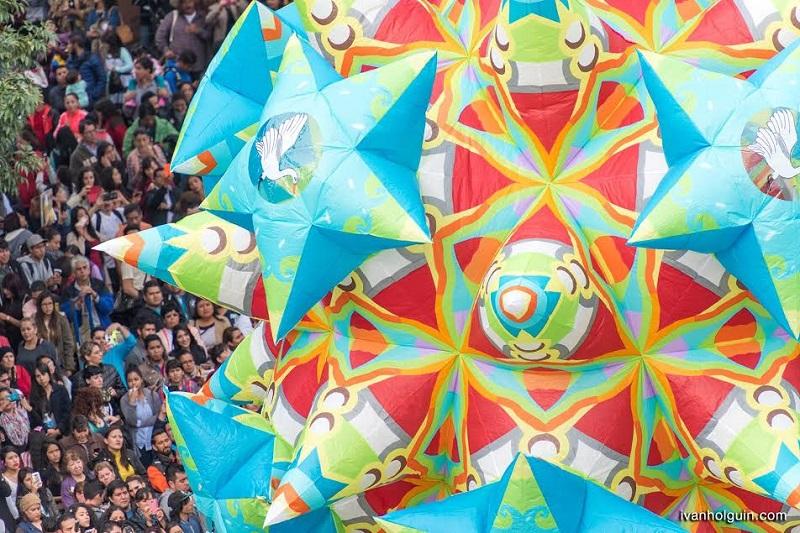El alcalde agradeció la participación de la iniciativa privada y de las distintas dependencias del gobierno estatal que se involucraron en la organización del Festival Internacional de Globos de Cantoya