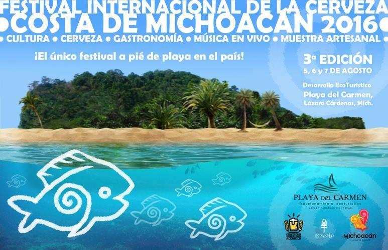 En la localidad de Las Calabazas, a sólo 10 kilómetros de Playa Azul, estarán presentes más de 100 etiquetas de casas productoras michoacanas, nacionales y extranjeras