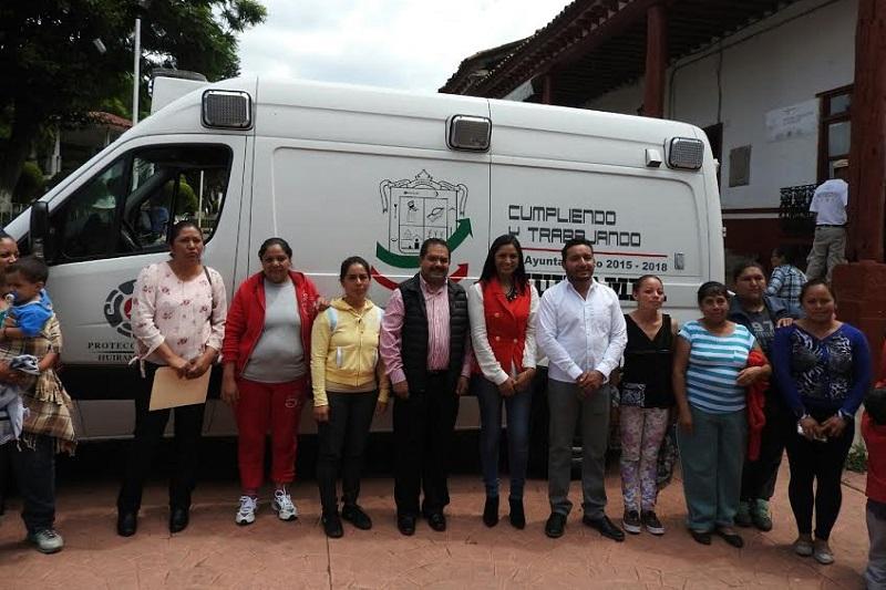 José Guadalupe Aguilera refrendó su compromiso con su población de su distrito y reiteró su compromiso para seguir gestionando ambulancias, medicamentos y los servicios que tanto demanda la ciudadanía