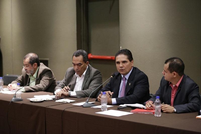 Aureoles Conejo reiteró su apertura para atender a los representantes de los trabajadores de la educación en el marco del respeto y destacó no obstante, la importancia de que este diálogo se reanude con la Federación