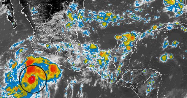 Se espera que este sábado Frank se convierta en huracán categoría 1 y se aproxime a Isla Socorro