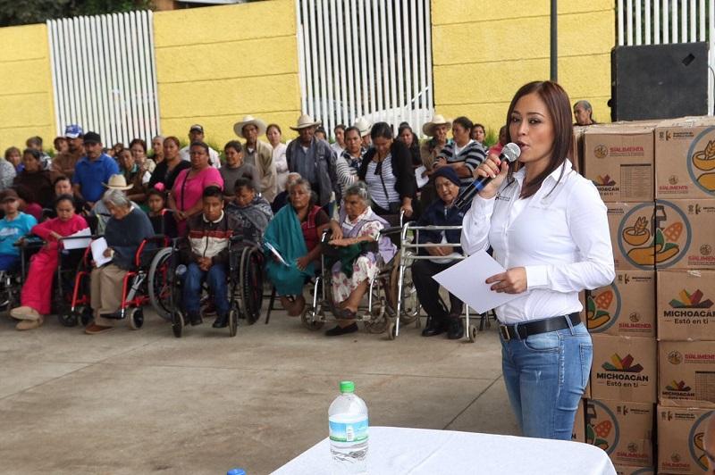 Miriam Tinoco puntualizó que la política social debe ser solidaria y redistributiva, y que el programa Sí Alimenta es uno de los ejemplos más justos que podemos encontrar