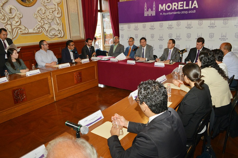 El Observatorio Ciudadano es muestra de la participación de los morelianos en la toma de decisiones, señaló el alcalde Alfonso Martínez
