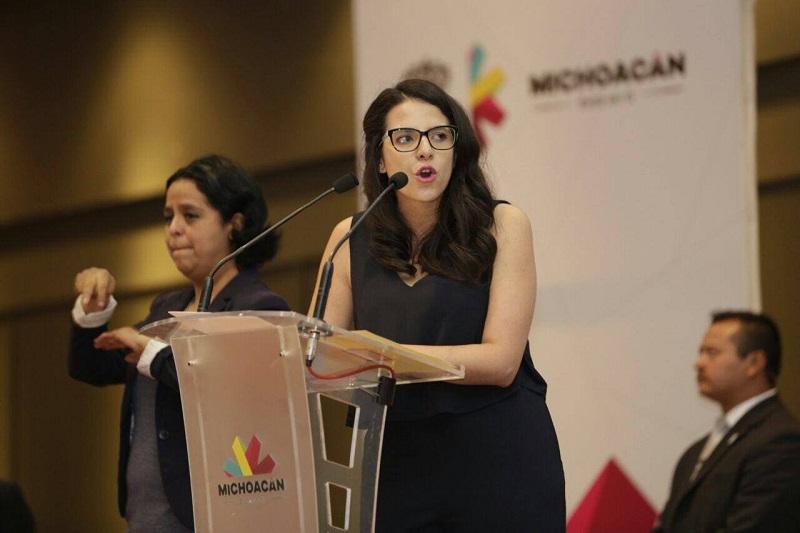 Giulianna Bugarini Torres destaca el trabajo coordinado entre órdenes de Gobierno en beneficio del sector