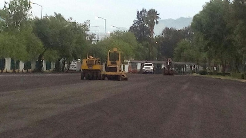 Tres áreas para aparcamiento de vehículos del complejo nicolaita reciben trabajos de mejoramiento