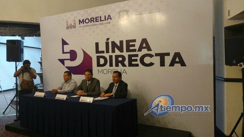 Línea Directa es una aplicación para Android que permitirá a los usuarios enviar sugerencias, quejas y denuncias de manera directa al Ayuntamiento de Morelia