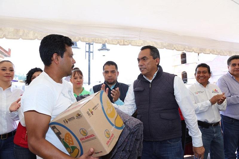 Los presidentes municipales no están solos, señala Adrián López, secretario de Gobierno