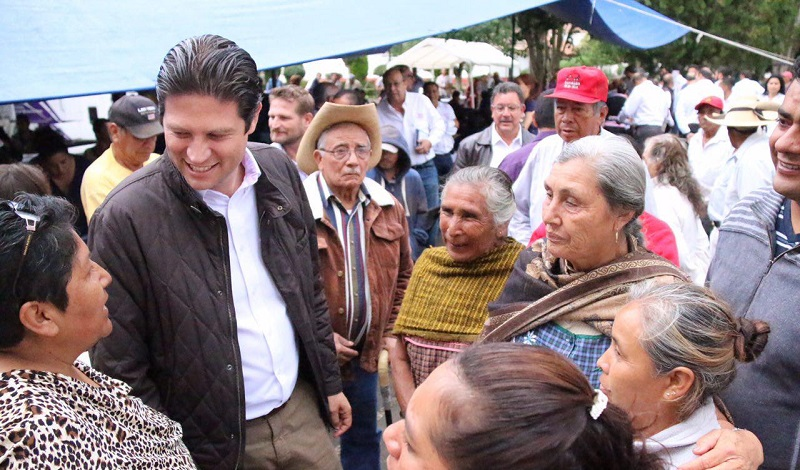 En esta localidad, se brindó también atención a las comunidades aledañas como Noriega, el Bañito, Chihuerio, Hermenegildo Galeana, la Maíza, San Miguel Coapa entre otras
