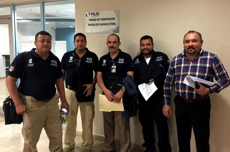 Personal de la Procuraduría del Estado de Michoacán conoce la operatividad de la Policía Ministerial de Baja California