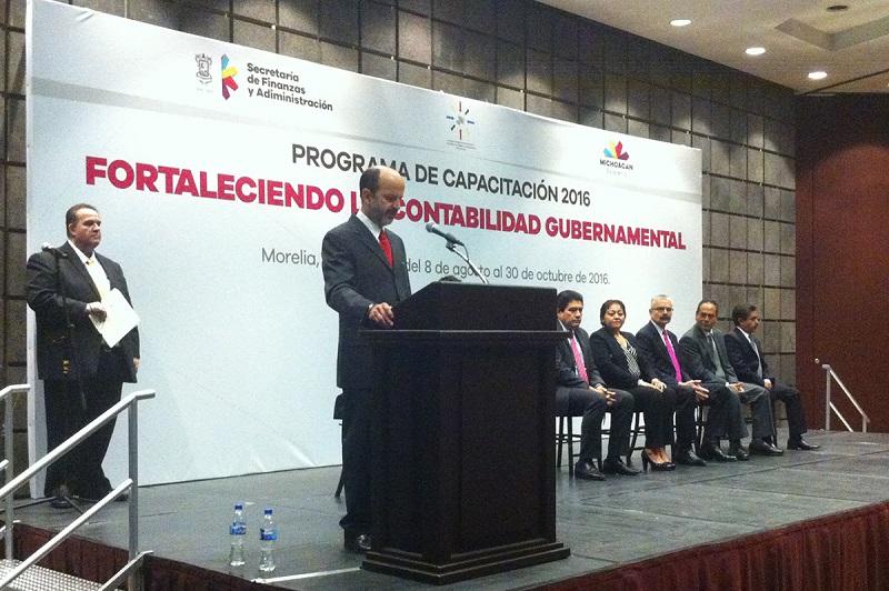 """Inauguran el Programa de Capacitación 2016, con el tema """"Fortaleciendo la Contabilidad Gubernamental"""""""