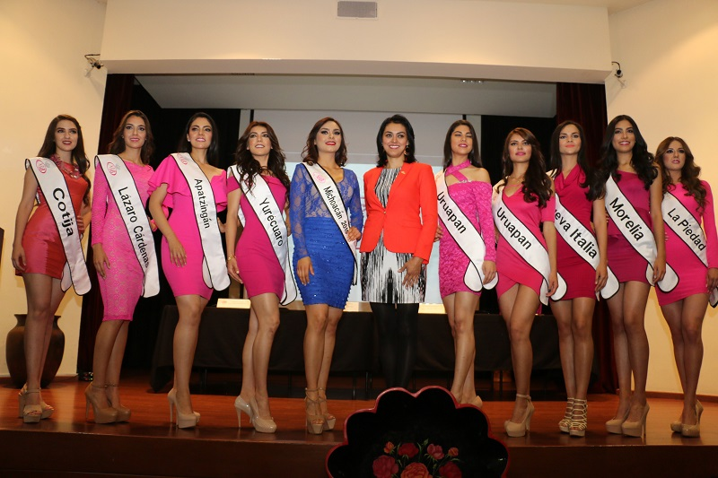 La convocatoria a los medios de comunicación se realizó por parte del equipo organizador de Nuestra Belleza Michoacán, en coordinación con la Secretaría de Turismo del Estado