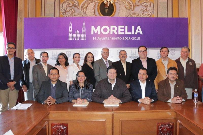 La principal instrucción de Martínez Alcázar a los funcionarios ha sido y será la de trabajar de la mano con los ciudadanos para aprovechar su experiencia y ese amor que tienen por Morelia