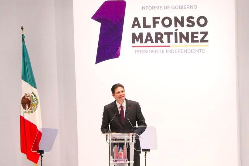 Martínez Alcázar cumplió con su obligación constitucional de rendir cuentas ante los morelianos