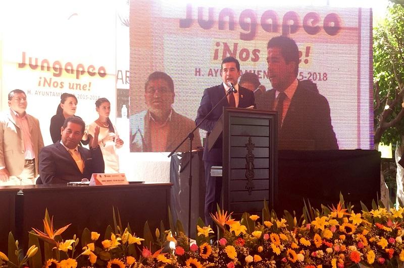 Paredes Correa manifestó que la labor del Gobierno Estatal que encabeza Silvano Aureoles Conejo es de una estrecha coordinación institucional con los municipios