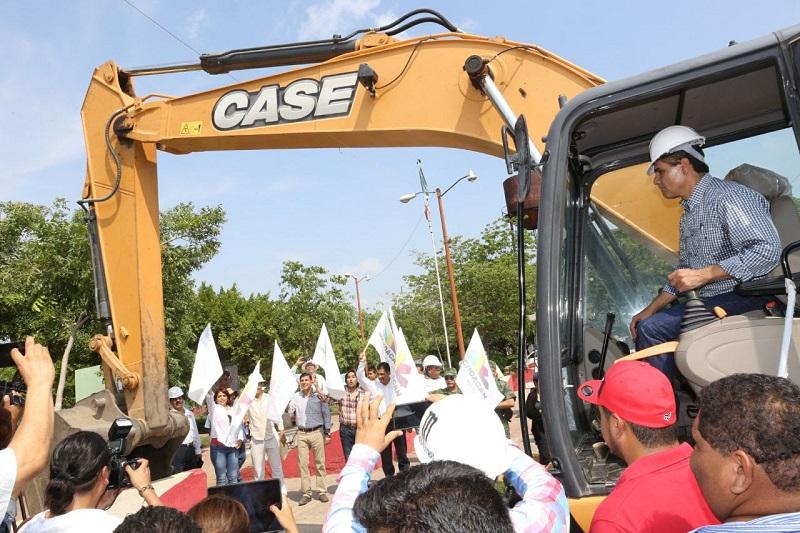 Las obras que hoy puso en marcha el Gobernador en la tenencia de Cenobio Moreno tendrán una inversión superior a los 3 millones 800 mil pesos