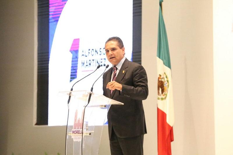 Aureoles Conejo pide a todos los sectores de la sociedad caminar juntos para recuperar la rectoría plena de la educación