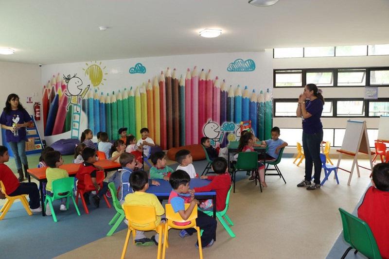 A partir de hoy se retoma el horario normal del área de juegos infantiles; se impartirán cuatro talleres para distintas necesidades