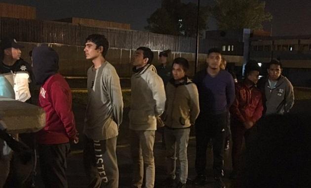 Para 8 estudiantes se dictó la medida cautelar de prisión preventiva por los tres delitos que les fueron imputados durante el tiempo que dure el proceso y a los otros 3 se les definirá su situación legal hasta el próximo lunes