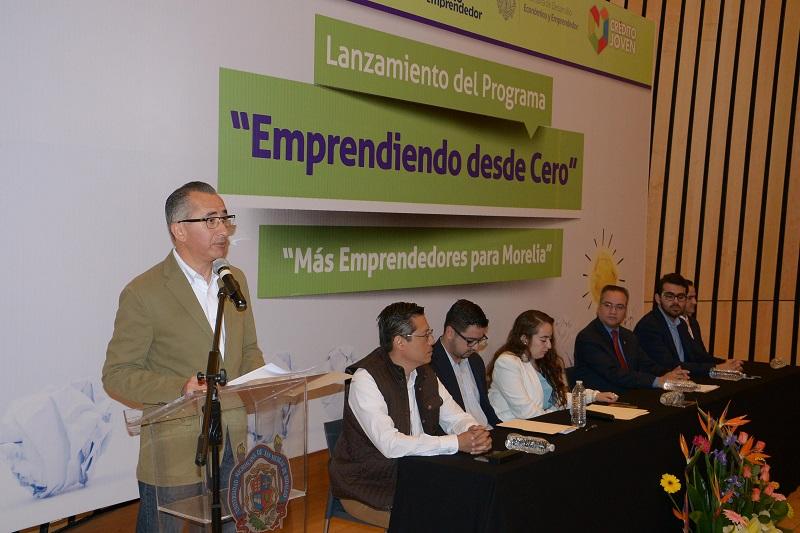 El objetivo principal es generar una comunidad de emprendimiento con cultura financiera y emprendedora sólida en el municipio