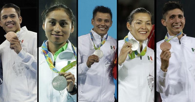 Además de lo anterior, los medallistas olímpicos deberán pagar el 20% de ISR por el valor de la propia medalla que traerán en su regreso al país