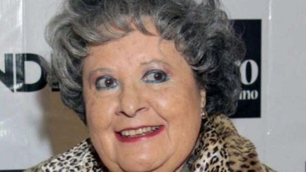 El pasado mes de junio fue dada de alta tras permanecer dos semanas hospitalizada a causa de una severa neumonía; hoy falleció de un paro respiratorio