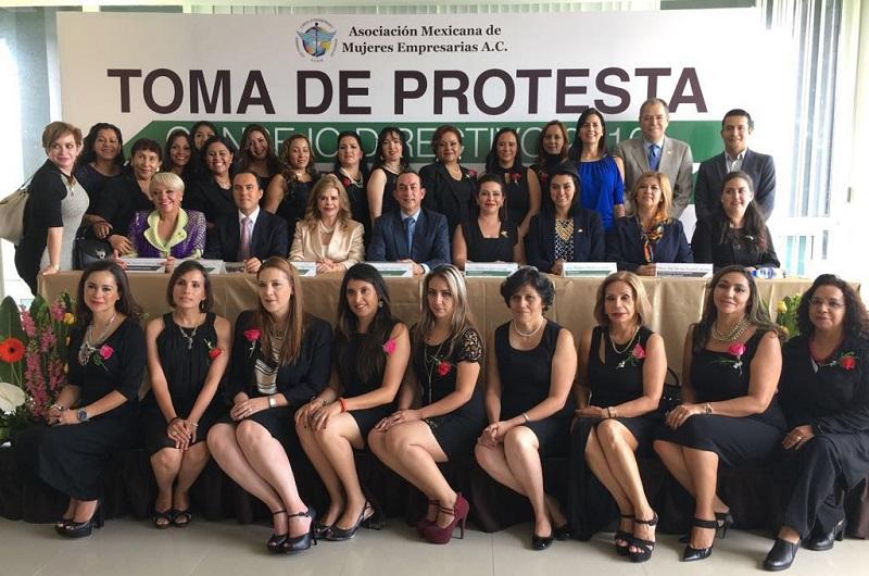 Lo anterior en el marco de la Instauración de Capítulo Fundador Morelia Michoacán de la Asociación Mexicana de Mujeres Empresarias