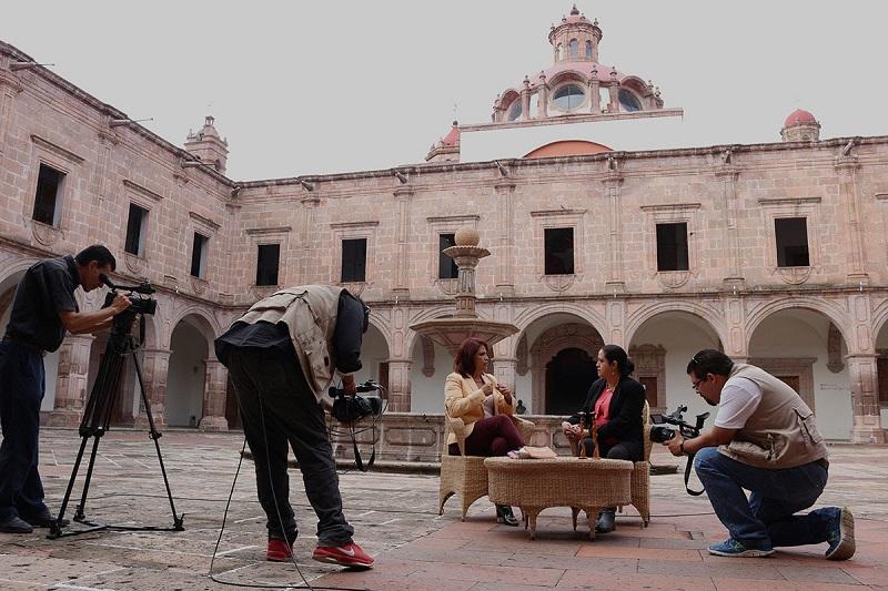 La directora del SMRTV, Gabriela Molina Aguilar, detalló que con este nuevo programa de televisión se coadyuvará en la difusión y promoción de los derechos humanos, en especial los de las mujeres