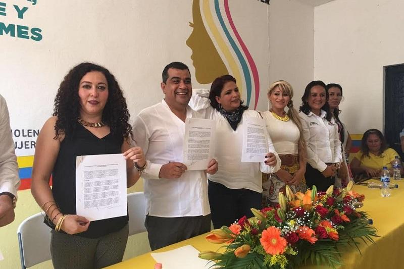 Ibarra Torres explicó que además de las actividades de atención inmediata también se contemplan obras de infraestructura que impactarán directamente en la mejora de la seguridad de las mujeres huetamenses