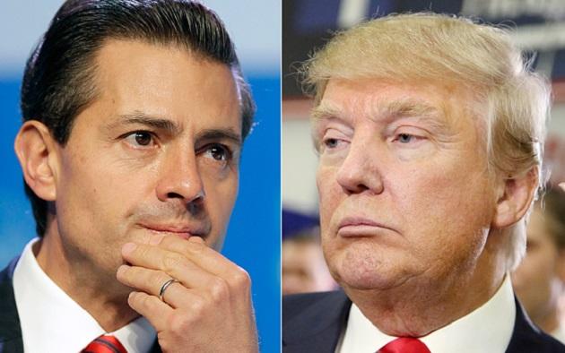 Hillary Clinton reaccionó y a través de un comunicado criticó la visita de Trump a México, destacando el discurso de odio que el magnate ha impulsado en contra de los mexicanos desde que era precandidato