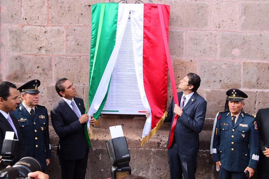 El presidente municipal de Morelia, junto con el gobernador encabezaron el Recorrido en Bando Solemne