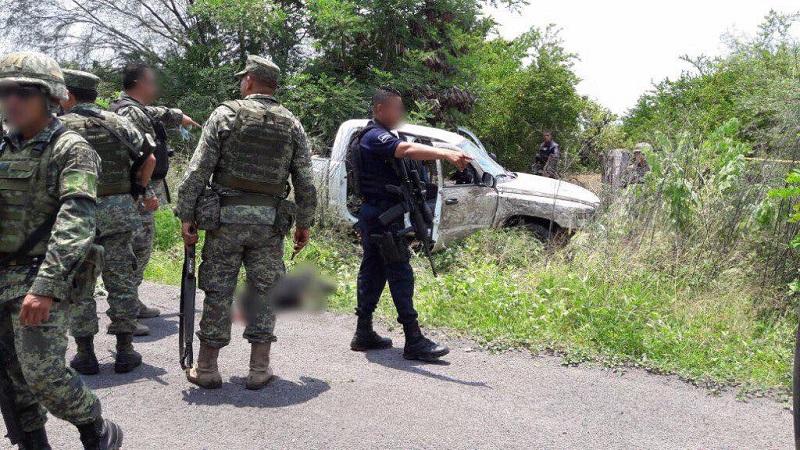 Enfrentamiento en Úspero deja 3 delincuentes muertos