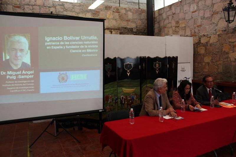 Se realiza el Acto en honor del historiador Miguel Ángel Puig-Samper