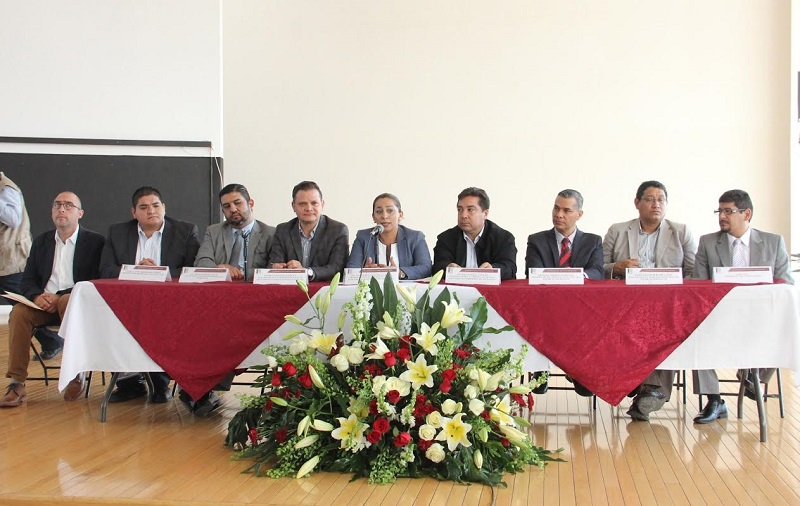 Asistieron José Román Ramírez Vargas y Humberto Urquiza Martínez, consejeros del IEM y Rubén Herrera Rodríguez e Ignacio Hurtado Gómez, magistrados del TEEM