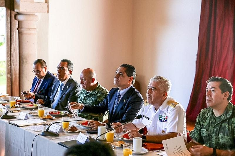 Acuerda Grupo de Coordinación Michoacán atención permanente a la estrategia de seguridad en la entidad