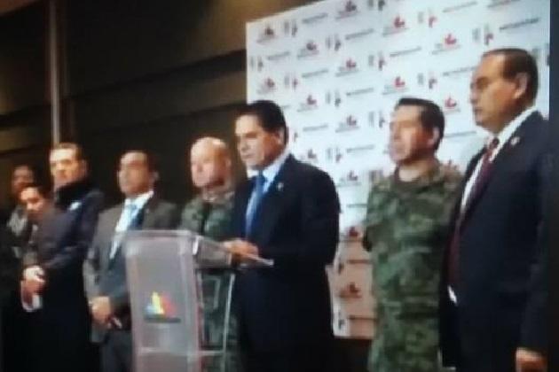 Aureoles Conejo rindió un informe sobre los golpes que se han dado recientemente a la delincuencia organizada en Michoacán