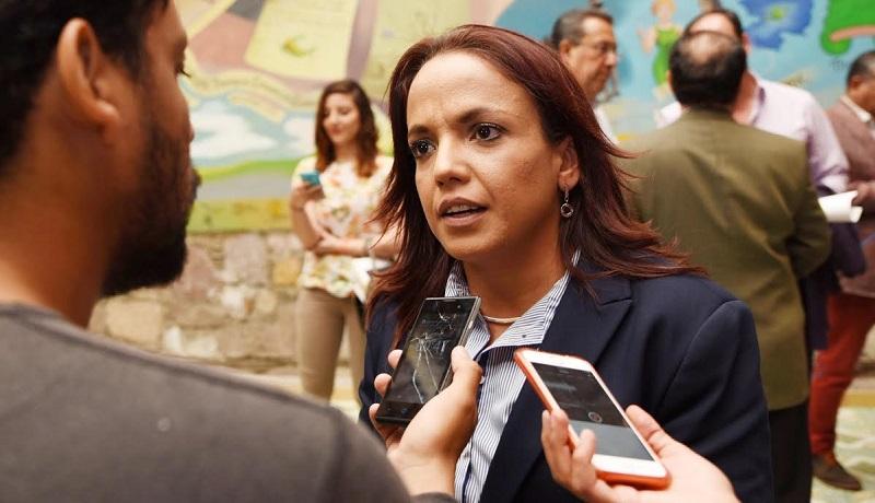 Andrea Villanueva Cano, aseguró que nuestro estado ha tocado fondo y resulta insostenible seguir en esta dinámica de desorden, en la cual no se garantiza a los ciudadanos oportunidades reales de seguridad