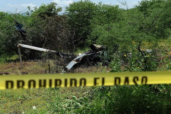 Los datos técnicos indican que el accidente ocurrió cuando el piloto viró y el tren de aterrizaje del helicóptero golpeó el suelo